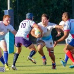 Mens Rugby Squad Play Queens University Bermuda, February 24 2018-3671