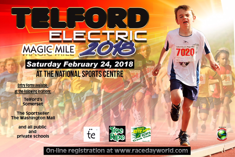 Telford Electric Magic Mile Bermuda Feb 2018