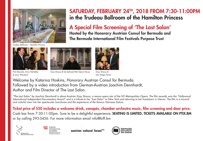 The Last Salon Bermuda February 2018