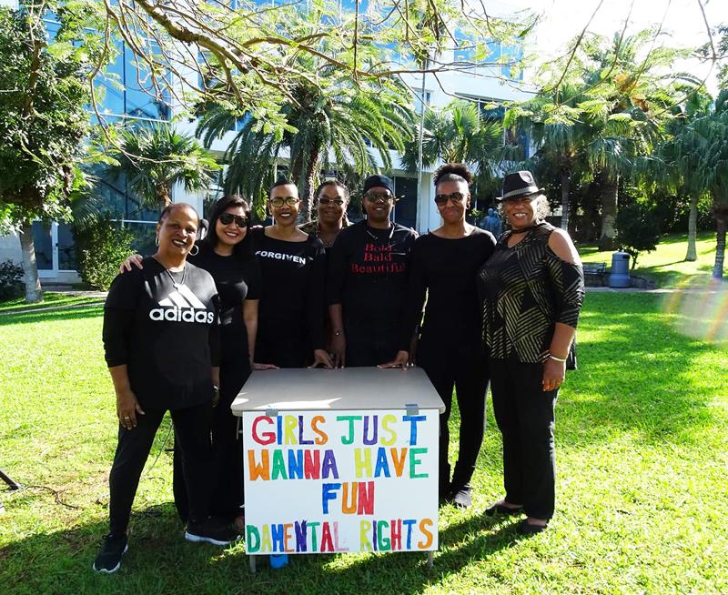 Women's Action Group Bermuda Feb 1 2018