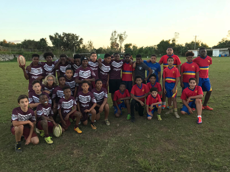 Youth Rugby Bermuda Feb 2018