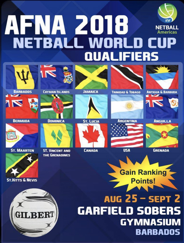 AFNA 2018 Netball World Cup Qualifiers