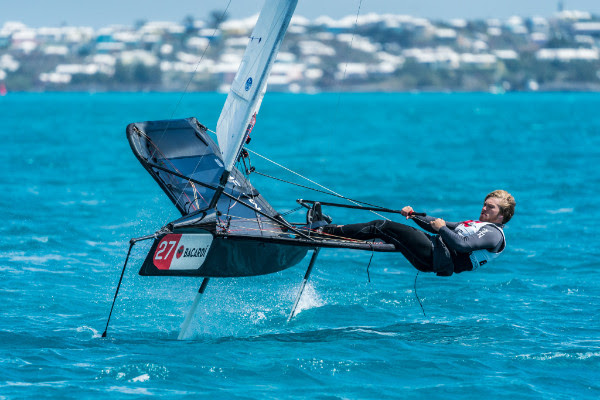 Bacardi Moth Bermuda Championship March 23 2018 (1)