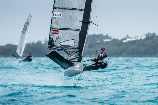 Bacardi Moth World Championship Bermuda March 27 2018 1