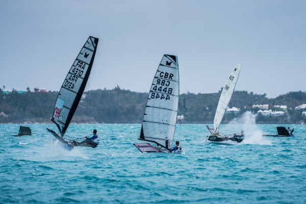 Bacardi Moth World Championship Bermuda March 27 2018 3