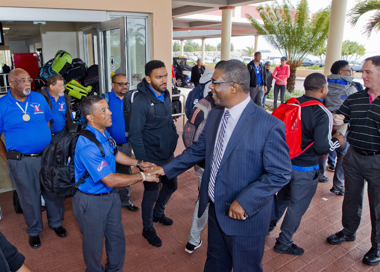 Bermuda Cricketers Return from Argentina March 2018 (1)