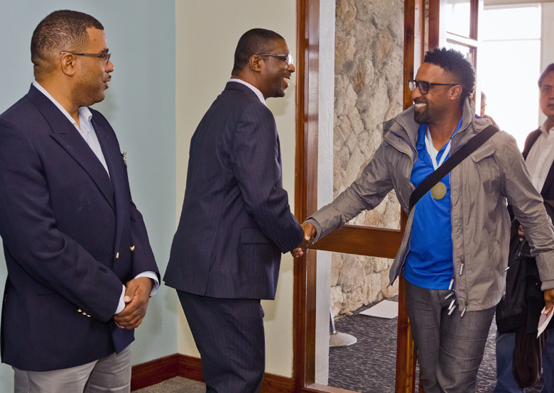 Bermuda Cricketers Return from Argentina March 2018 (3)