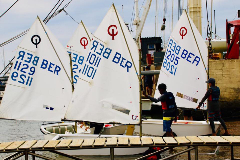 Bermuda Optimist Sailors Competing In Uruguay March 30 2018