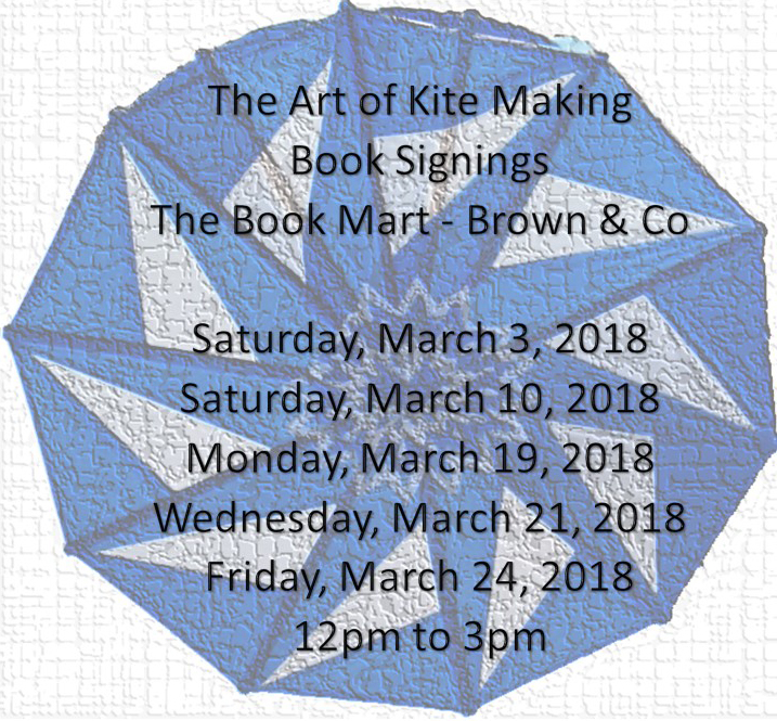 Book Signings The Art of Kite Making Bermuda March 2018