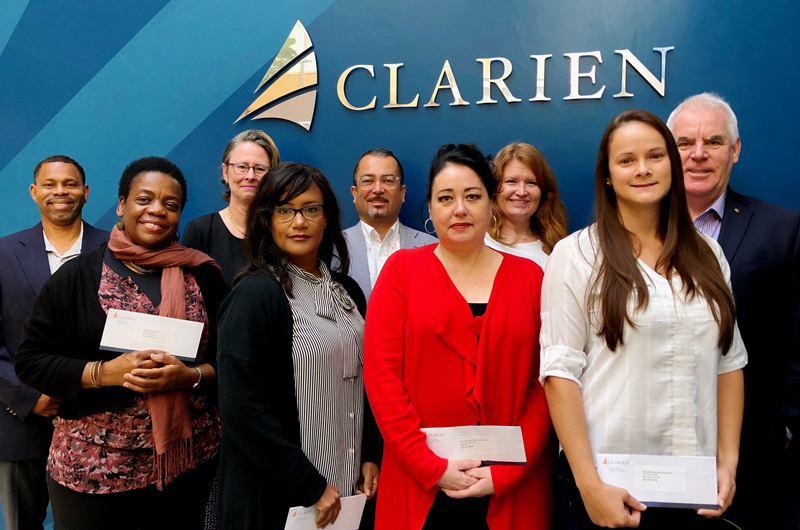 Clarien Foundation recipients Bermuda March 2018