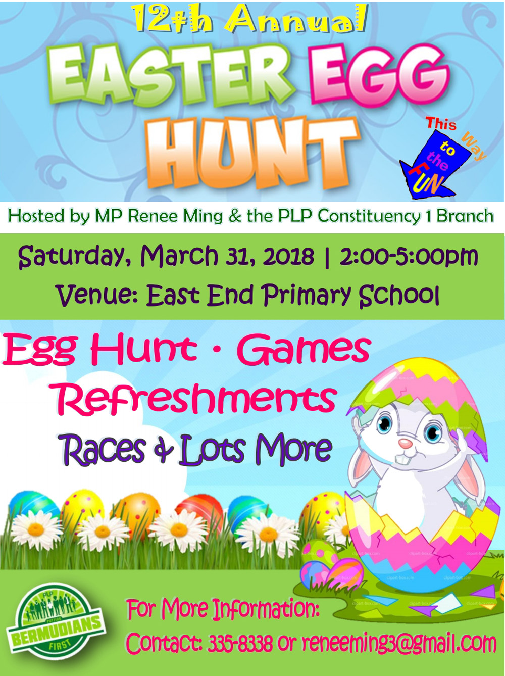 Easter Egg Hunt Bermuda March 22 2017
