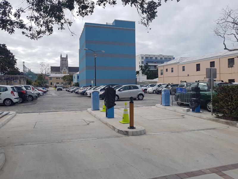Elliot Street Car Park Bermuda March 1 2018