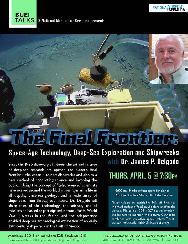 Final Frontier Bermuda March 2018