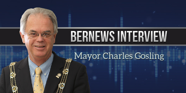 Mayor Charles Gosling Bernews Podcast