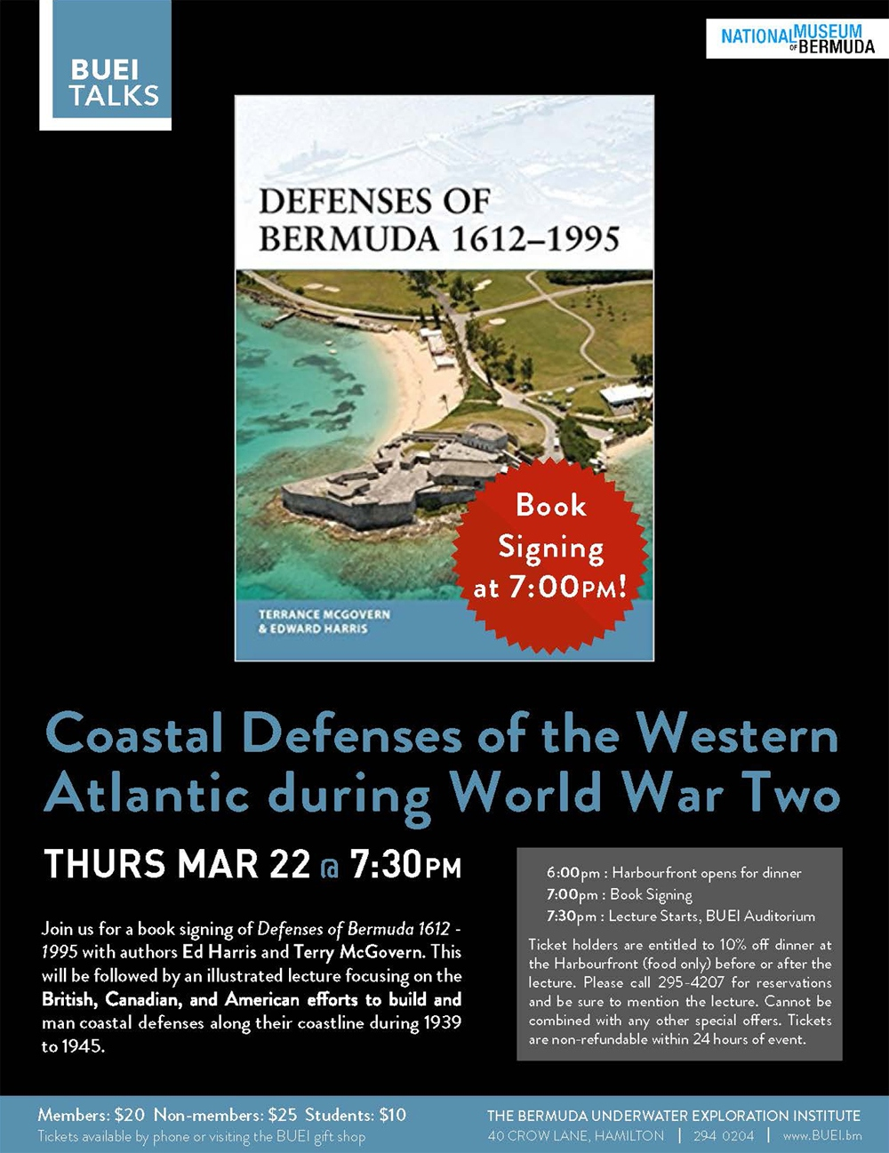 McGovern Defenses book main Bermuda March 15 2018