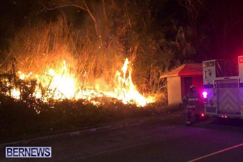 Pembroke Brush Fire Bermuda, March 19 2018 (5)