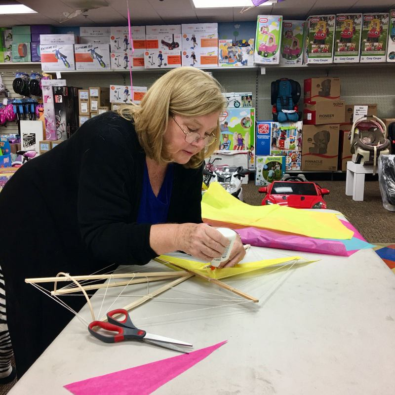 Phoenix Stores Kite Making Workshops Bermuda, March 2018 (1)