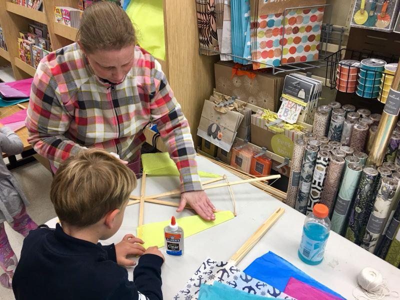 Phoenix Stores Kite Making Workshops Bermuda, March 25 2018 (8)