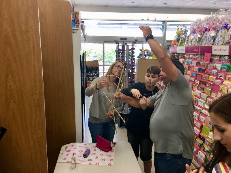 Phoenix Stores Kite Making Workshops Bermuda, March 25 2018 (9)