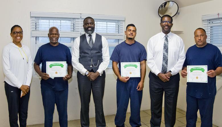 Prison Yoga Programme Bermuda March 2018