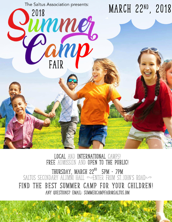 Saltus Summer Camp Fair Bermuda March 2018