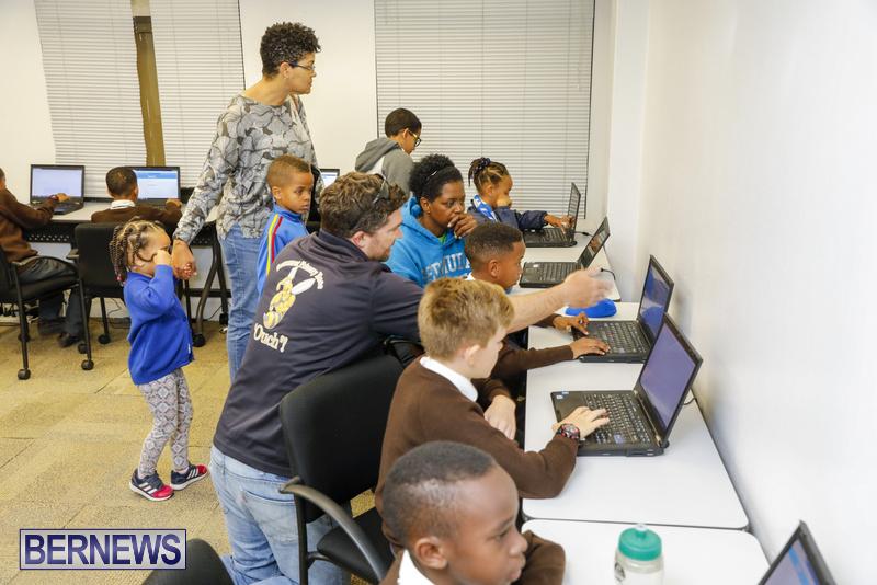 Students Receive Coding Certificates Bermuda, March 26 2018-6760