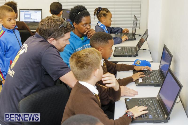 Students Receive Coding Certificates Bermuda, March 26 2018-6762