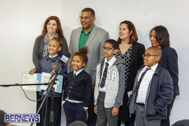 Students Receive Coding Certificates Bermuda, March 26 2018-6786