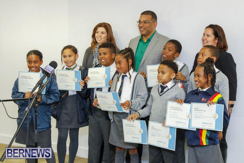 Students Receive Coding Certificates Bermuda, March 26 2018-6796