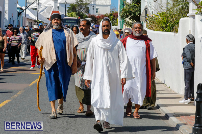 Walk-To-Calvary-Reenactment-Good-Friday-Bermuda-March-30-2018-6992