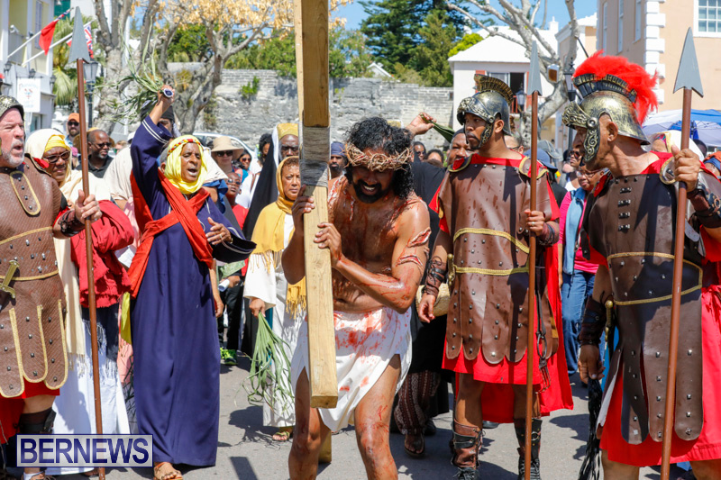 Walk-To-Calvary-Reenactment-Good-Friday-Bermuda-March-30-2018-7261