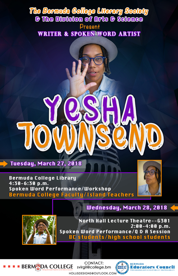 Yesha Townsend Bermuda March 2018