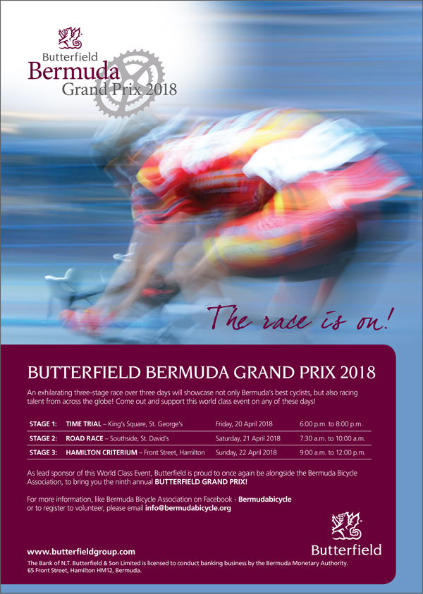 Butterfield Bermuda Grand Prix April 2018