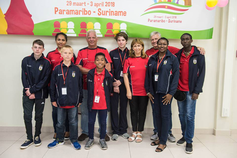 CARIFTA Junior Chess Team Bermuda April 2 2018