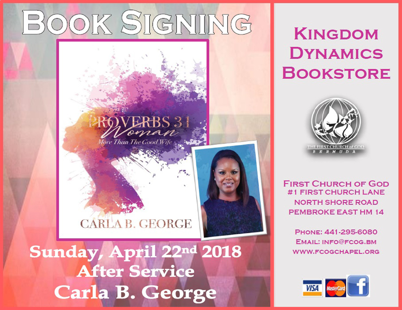 Carla George Book Signing Apr 22 2018