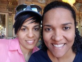 Chantelle Day and Vickie Bodden April 2018