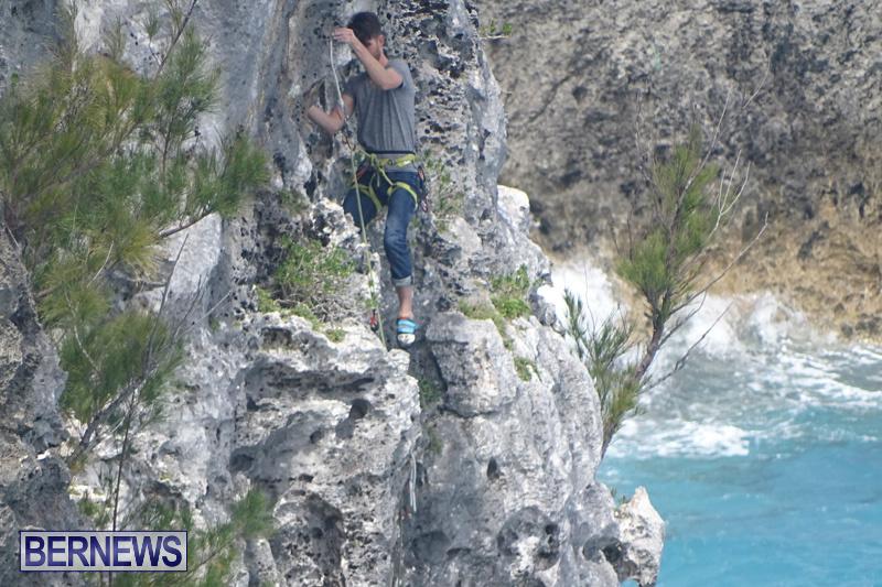 Cliff Climb St Davids Bermuda, April 6 2018-2-15