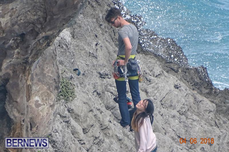 Cliff Climb St Davids Bermuda, April 6 2018-2-2-2