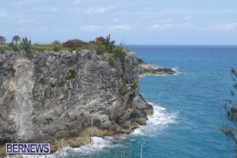 Cliff Climb St Davids Bermuda, April 6 2018-2