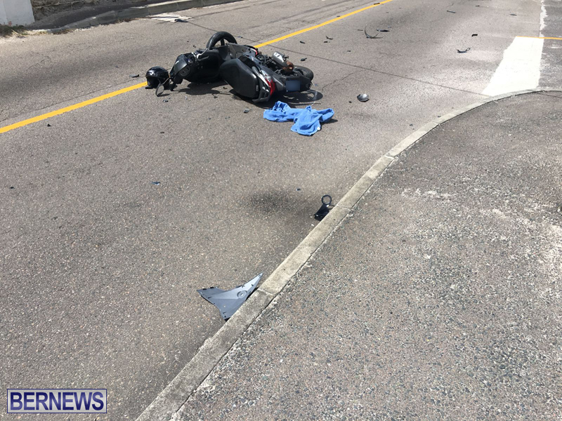 Collision Bermuda April 2018