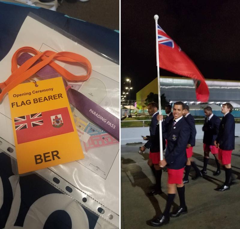 Commonwealth Games Bermuda April 4 2018 (5)