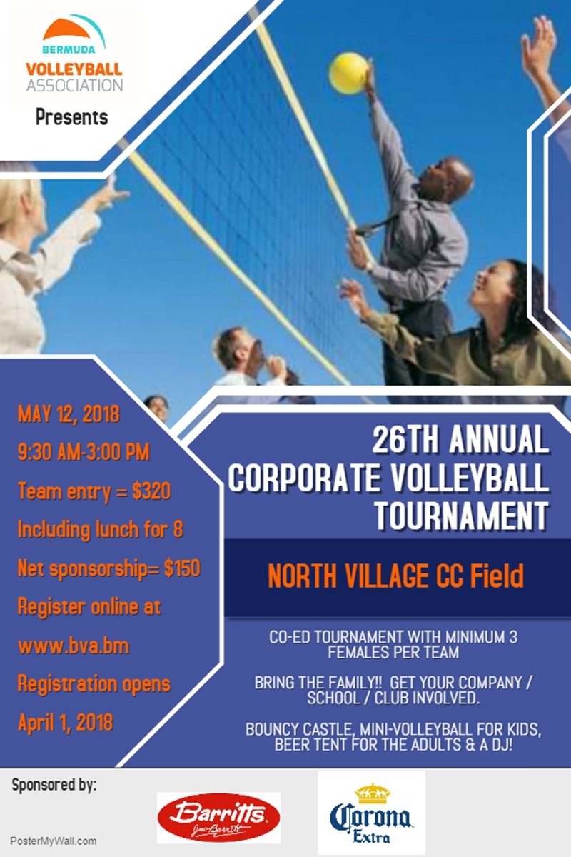 Corporate Tournament 2018 Poster