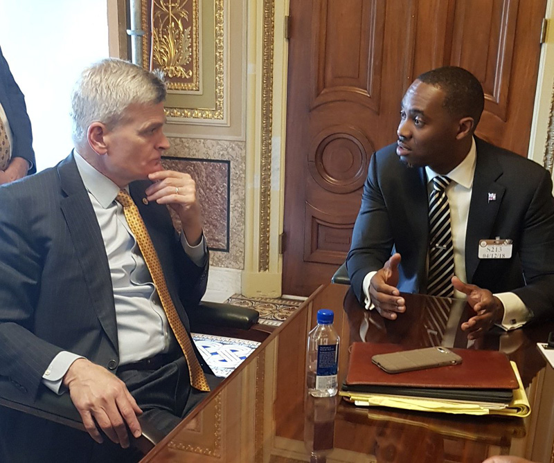 David Burt and Bill Cassidy April 2018