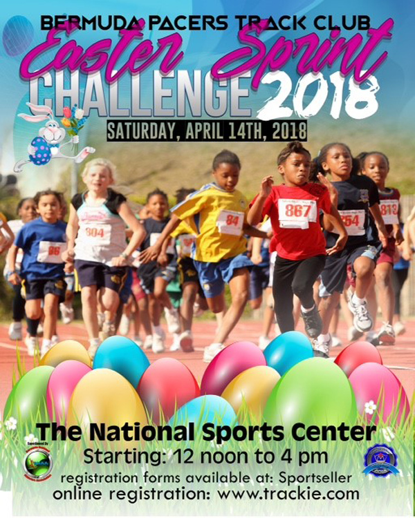 Easter Sprint Challenge Bermuda April 2018