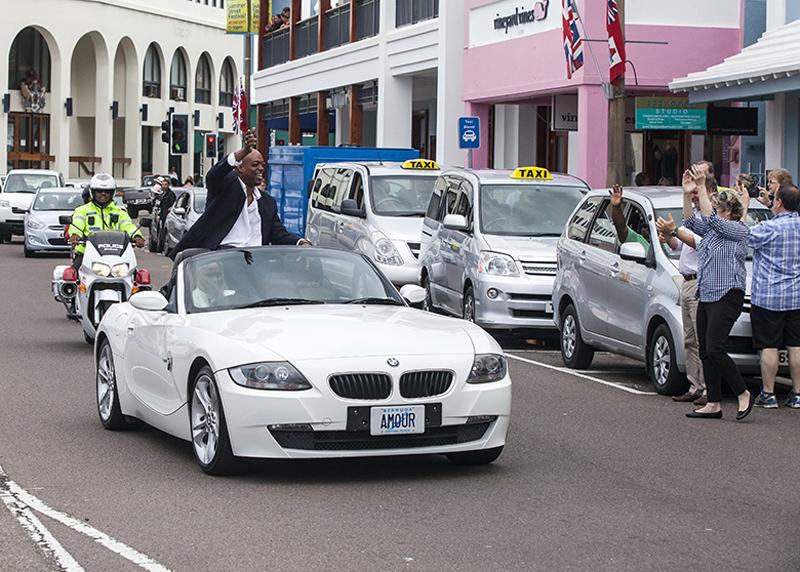 Flora Duffy Motorcade Bermuda April 30 2018 (5)