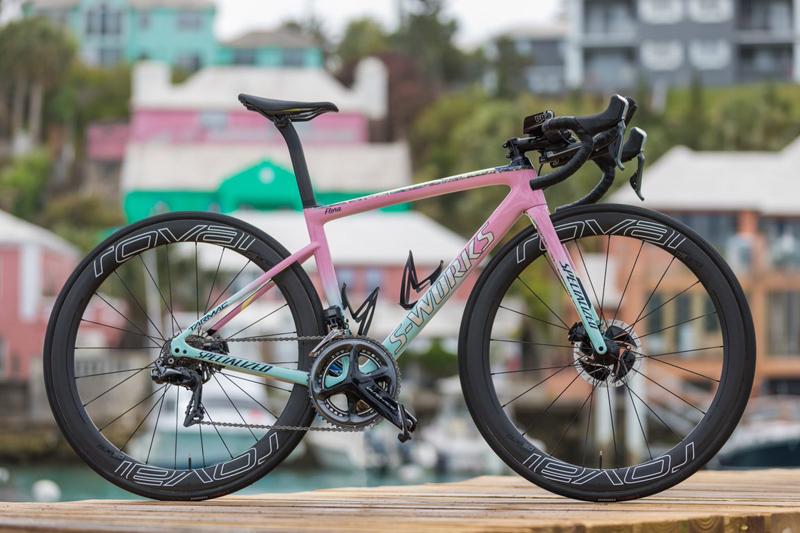 Flora Duffy bike Bermuda April 2018 (1)