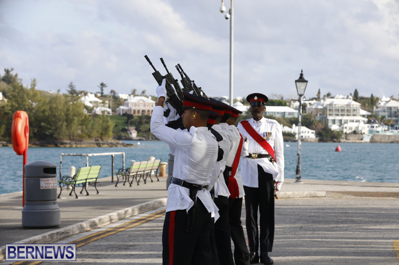 Gun Salute Celebrates New Royal Baby Bermuda April 24 2018 (3)