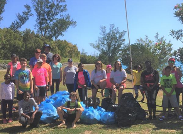 KBB Clean Up Bermuda April 19 2018 1