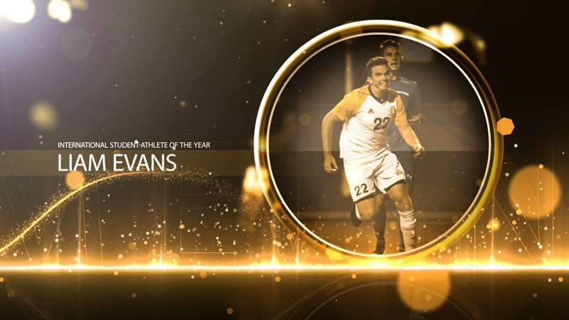 Liam Evans International Student-Athlete of the Year