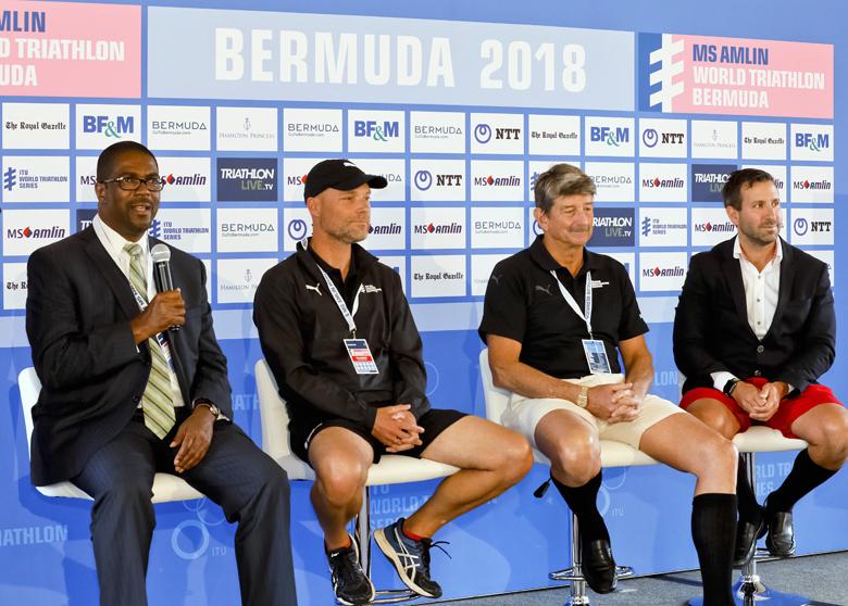 Minister Pre Triathlon Press Conference Bermuda April 2018 (1)